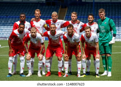 PORTSMOUTH, UK - JULY 28, 2018: Utrecht team photo