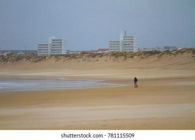 Portugal autumn beach