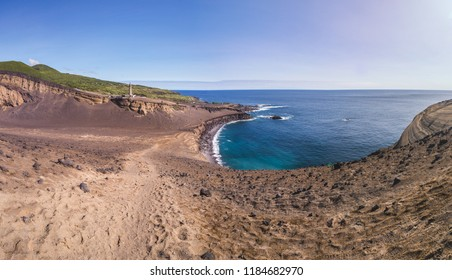 Portugal, Azores, Faial Island, Capelinhos, Capelinhos Volcanic Eruption Site