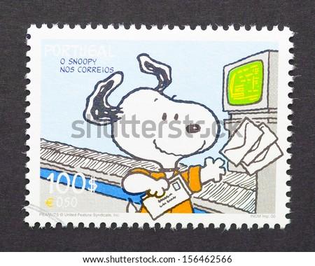 PORTUGAL CIRCA 2000 Postage Stamp Printed Stock Photo Edit Now