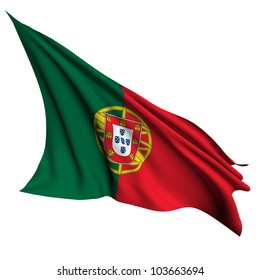 Portugal flag - collection no_4