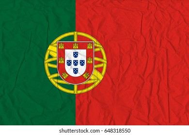 Portugal flag grunge background. Background for design in country flag