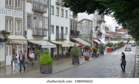 Portugal. Ponte de Lima, the oldest Portuguese village. Year 2012