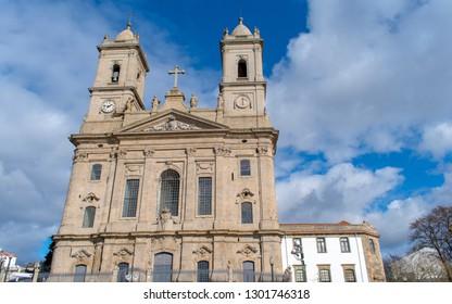 Portugal Porto city - the parish church of Lapa (Lapa church)