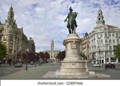 Portugal. Porto - the main square