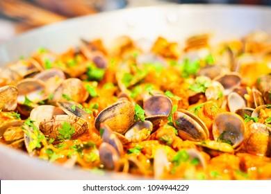 Portugese garlic clams