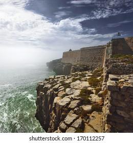 Portuguese Atlantic coast. Peniche