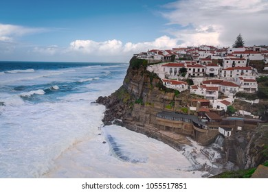 Portuguese fishing village Azenhas do Mar