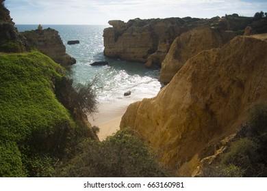Portuguese hidden beach