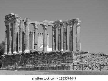 Portuguese Roman temple