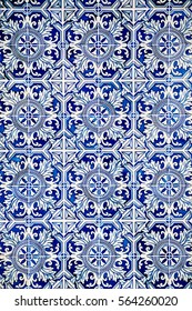 Portuguese Tiles in Porto, Lisbon.