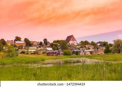 Porvoo finland, Old town of Porvoo in Finland.