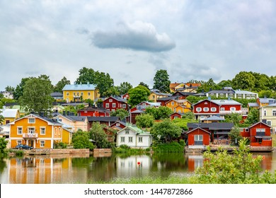 Porvoo Old town of in Finland.