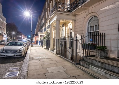 Posh house in Belgravia, London