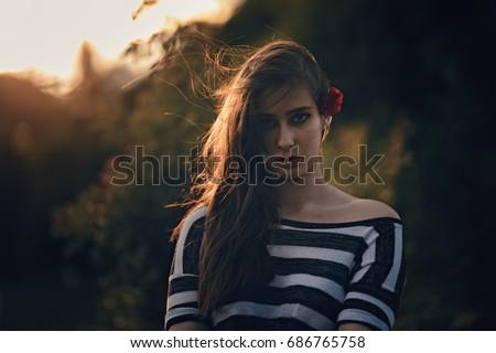 Top flower teen models