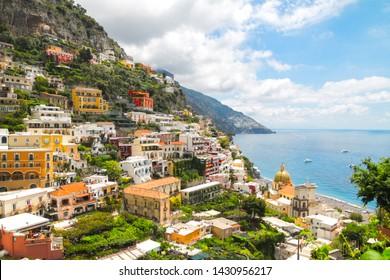 Positano coast, Amalfi coast, Salerno