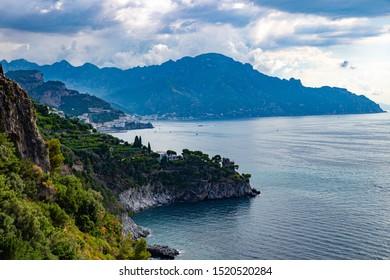 Positano, highlight of the Amalfi coast in Southern Italy