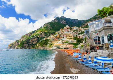 Positano on Amalfi coast, campania, Italy