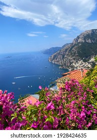 Positano view from the top of Nocelle