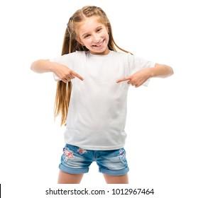 Imagenes Fotos De Stock Y Vectores Sobre White T Shirt Kids
