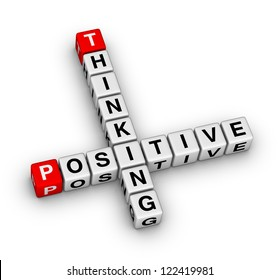 Positive thinking crossword puzzle