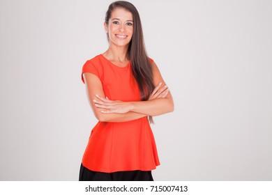 positive woman successful