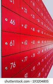 Post Box at Post office