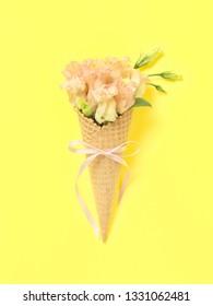 Post card Flower