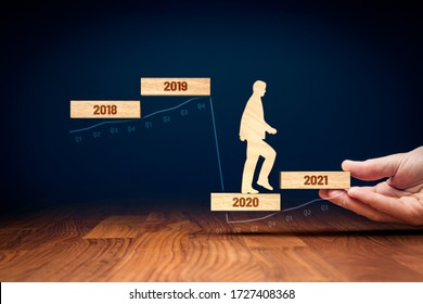 Post covid-19-Ära helfen Hand für Geschäfts-und Wirtschaftskonzept. Staatliche Konjunkturimpulse nach dem 19. Lebensjahr. Finanzminister (Politiker) stimulieren die Wirtschaft für das BIP-Wachstum im Jahr 2021.