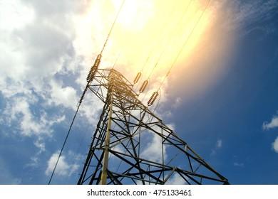 Post high voltage