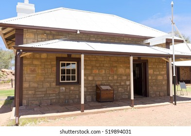 post office and telegraph station building in alice springs northern territory of australia
