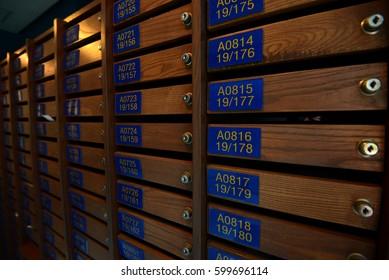 postbox in condominium