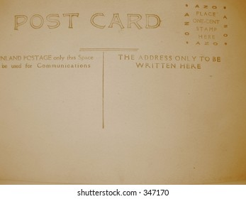 Postcard from the past - sepia