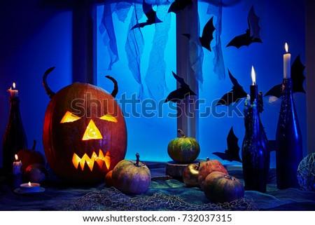 Postcards Halloween Backgrounds Desktop Wallpapers Stock Photo Edit