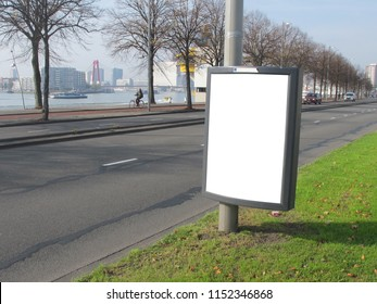 Poster signage in Rotterdam