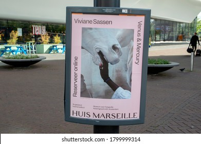 Poster Viviane Sassen From The Huis Of Marseille Museum At Amsterdam The Netherlands 20-6-2020