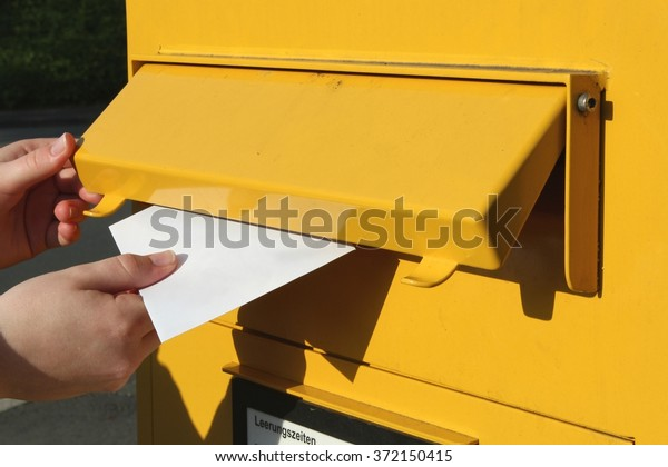 posting of a letter