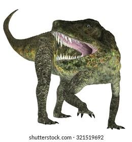 Postosuchus Triassic Reptile - Postosuchus was a cousin of crocodiles and lived as a carnivore in North America during the Triassic Era.