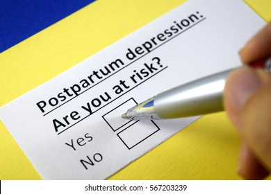 postpartum depression: are you at risk? Yes