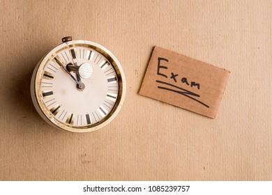 Postponement of the exam due procrastination