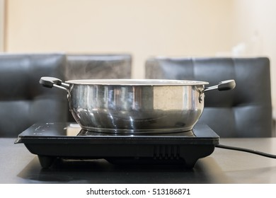 Pot of boiling
