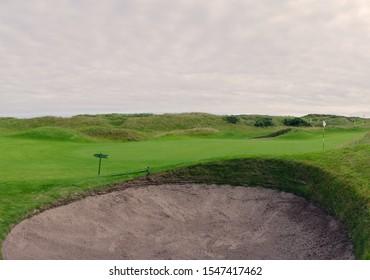 Pot Bunker, Carnoustie Golf Club,