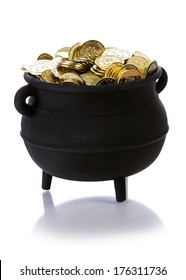 Pot Of Gold: Cauldron Full of Coins