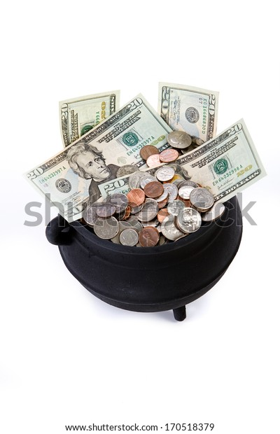 Pot Of Gold: Pot Full Of American Riches.