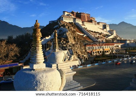the Potala Palace and