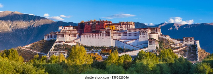 Potala palace in Tibet of China - Shutterstock ID 1392628046