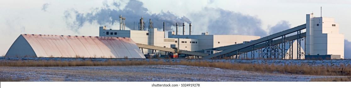 Potash Mine Saskatchewan K + S Bethune Location