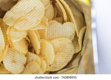 Potato Chips Packed in ready-to-eat bags
