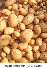 potato in indian market