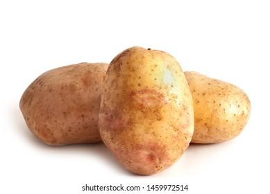 potato isolated on a white background
